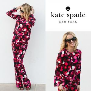 Kate Spade New York Falling Florals Pant Suit